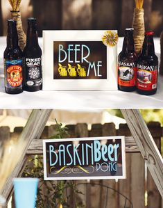 Backyard Beer Bash {Adult Birthday} // Hostess with the Mostess®
