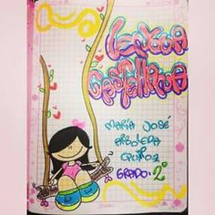 List of attractive segundo periodo marcado ideas and photos Notebook Art, Grammar Book, Typography, Lettering, Letters And Numbers, Diy And Crafts, Mixed Media, Snoopy, Clip Art