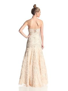 Sue Wong Women's Embellished Strapless Gown