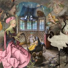 """Using """"Abandonned Places"""" - """"Noble Woman"""" and other Teddi's kits"""