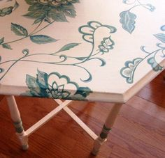 another hand painted table