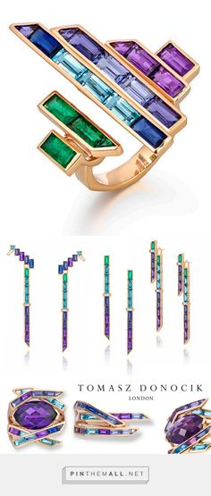and we swoon! Tomasz Donocik's New Electric Night Collection at KaterinaPerez.com - created via http://pinthemall.net