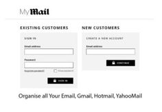MyMail - Organise all Your Email | Gmail, Hotmail, YahooMail