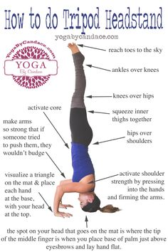 Pin now, practice headstand later. Wearing: Alo yoga pants, f21 tank, lululemon headband(on sale!)