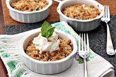Almond Flour Apple Crumble #Glutenfree