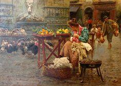 Vincenzo Caprile – La Sirena Partenope e la Fontana delle Zizze Napoli
