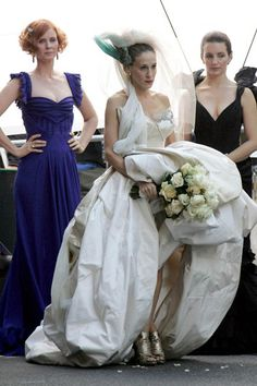 We know it wasn't a real wedding but there was no way we would leave SJP in Vivienne Westwood off our top 15 celebrity brides list http://www.misalifestyle.com.au/top-15-celebrity-brides/