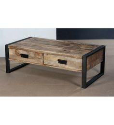 #Indyjski industrialny #stolik Model: TI-5744 Teraz się tylko: 1,006 zł. Zamów online @ http://goo.gl/C3XC7j