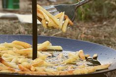 Rustic way of cooking fries - 68 day of 365 by Andreea Truia · 365 Project