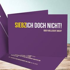 Siebzich - Sechzich 70th Birthday, Birthday Cards, Invitation Design, Invitation Cards, Diy Birthday Invitations, Party Co, Diy Presents, Do It Yourself Crafts, Pink Parties