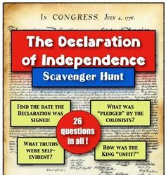 declaration of independence teaching ideas - Google Search 8th Grade History, Study History, History Education, History Teachers, Teaching History, Teaching Resources, Teaching Ideas, History Classroom, Physical Education