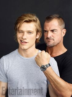 Comic-Con 2016 Star Portraits: Day 1 | Lucas Till and George Eads, 'MacGyver' | EW.com
