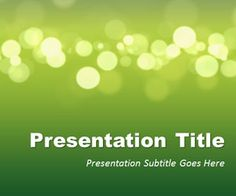 Green Marketing PowerPoint template is an original PowerPoint theme and free background for presentations that you can download for your slides