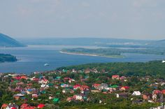 Volga River, Samara, Russia