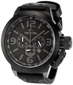 Men's Wrist Watches - TW Steel Mens TW821 Canteen Black Dial Watch * Want additional info? Click on the image.