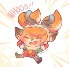 Snow Fawn Poppy by KittyCouch on DeviantArt Poppy League, League Of Legends Poppy, League Of Legends Characters, Fictional Characters, Im Poppy, Fanart, Bowser, Poppies, Chibi