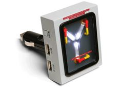 Back To The Future Flux Capacitor car USB charger