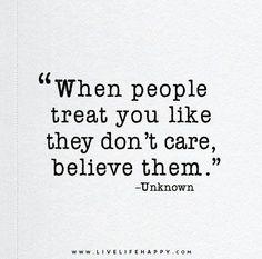 I believe you...