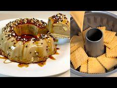 Ai niște cookie-uri! Faceți acest minunat desert rapid și ușor, care este incredibil de delicios! - YouTube Easy Desserts, Delicious Desserts, Cookies, Eid Special, Ramadan Recipes, Biscuits, Cheesecake, Desert Recipes, Flan