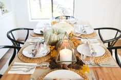 West Coast Creative Director Orlando Soria was setting the Thanksgiving table long before he could even have his first glass of wine. We asked him to give us some tips for the holiday table.