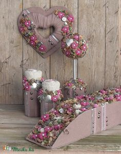 Pro Bow, Topiary, Ikebana, Doilies, Ladder Decor, Repurposed, Christmas Wreaths, Recycling, Floral Wreath