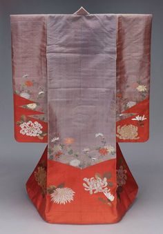 Uchikake Late 19th Century to Early 20th Century Japan