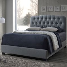 Found it at Wayfair - Baxton Studio Upholstered Bed