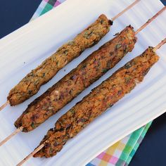 Vegetable Kebabs Indian spiced / Oven baked healthy snack made using mashed vegetables.
