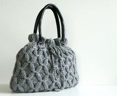 NzLbags Handmade Knit bag christmas gifts knitted by NzLbags, $95.00