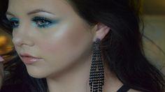 Dramatic Blue Makeup Tutorial | Danielle Scott