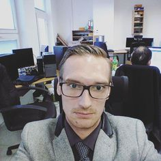 #ordinaryofficeday at the #itdepartment #selfie