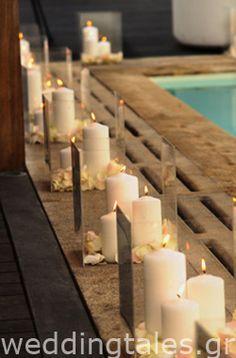Διακόσμηση Γάμου: Ρομαντικός Στολισμός Γάμου με Κεριά