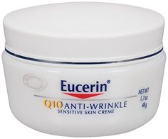 Eucerin Q10 Anti-Wrinkle Sensitive Skin Creme, 1.7 oz. Eucerin $8.99 http://smile.amazon.com/dp/B00005NAOD/ref=cm_sw_r_pi_dp_eXPQub00QS1RP