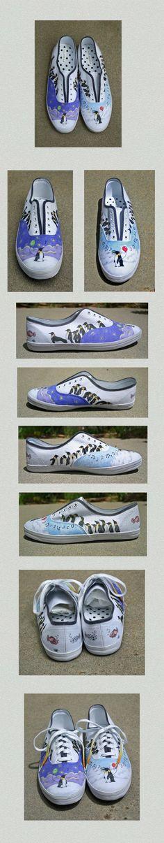 Penguin Shoes by ~Spectrolite on deviantART