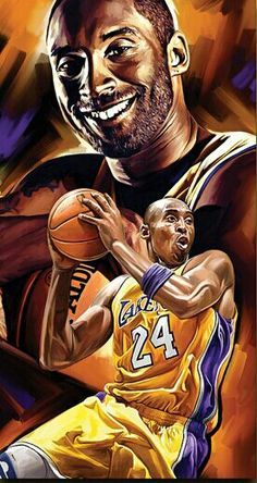 Kobe Bryant Lakers Art