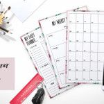 In this bundle you will find 5 beautiful digital printable life planners for just $9 (normal retail price for these items is $26). With this bundle you can use a different style calender every day, week or month, so never get bored of your planner! These elegant planners are easy to use. All you need …