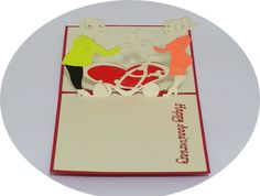 Happy Anniversary - 3D Pop Up Cards - Greeting Cards - Ovid Gifts