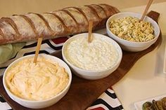 Mayonesa chipotle, Salsa tartara y Aderezo de queso roquefort