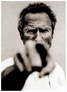 Clint Eastwood by Anton Corbijn