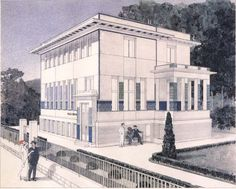 The Second Wagner Villa  Otto Wagner  Vienna, Austria  1905