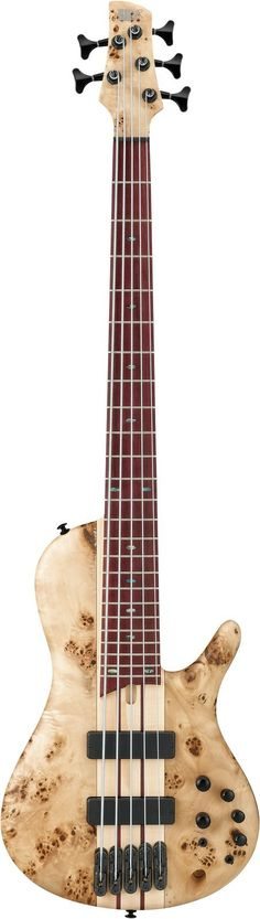 Ibanez SRSC805 Key Features - Available In Two Finish Options - Deep Twilght Flat & Natural Flat - Wing Body - Increased Sustain - Hum Free Pickups With Wide Freaquency Response. Workshop Bass Series