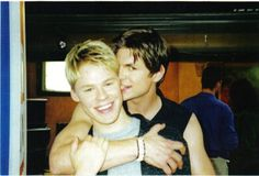 Justin Taylor Brian Kinney Queer As Folk Brian E Justin, Justin Taylor, Queer As Folk, Randy Harrison, Ian And Mickey, Brian Kinney, Elastic Heart, Gale Harold, Men Kissing