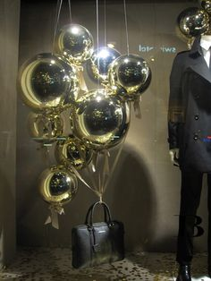 "Burberry ""Christmas Balloons"" Christmas Window Display 2012 