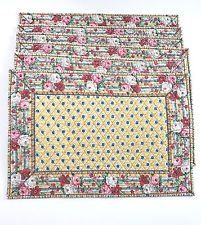 Vera Bradley Elisabeth Indiana 6 Placemats Retired Pattern Vintage Conditions