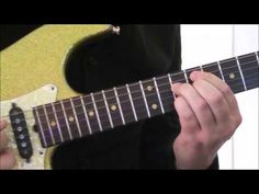 This is how I play 'The Pretender' - Guitar Lesson - How to Play -- Tutorial
