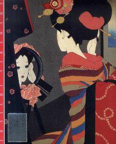 中原蒼二 - 中原淳一の世界 [1989] Japanese Illustration