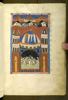 De balneis Puteolanis, MS G.74 fol. 10r - Images from Medieval and Renaissance Manuscripts - The Morgan Library & Museum