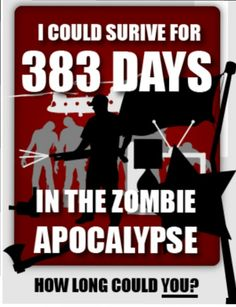 I could survive!!