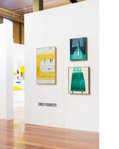 Sophie Gannon Gallery installation at The Melbourne Art Fair this week. Photo – Sean Fennessy.