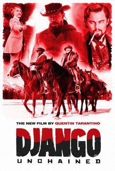 Django Unchained Fan Poster